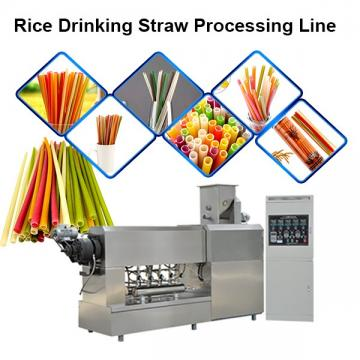 Rice Flour Drinking Straw Vietnam Extruder Making Machine Equipment