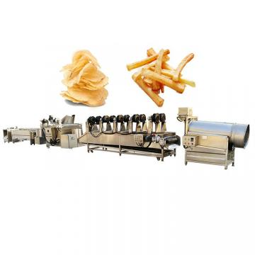 Manufacturing Frying Production Line Fresh Frozen French Fries Sticks Fully Automatic Lays Potato Chips Making Machine