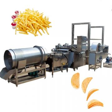 Full Automatic French Fries Potato Chips Making Production Machine Line