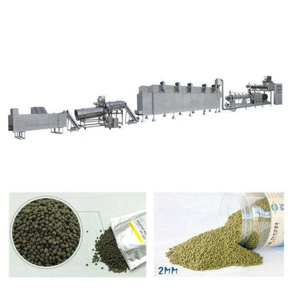 Floating Fish Feed Pellet Animal Pet Extrusion Dry Dog Food Machine #1 image