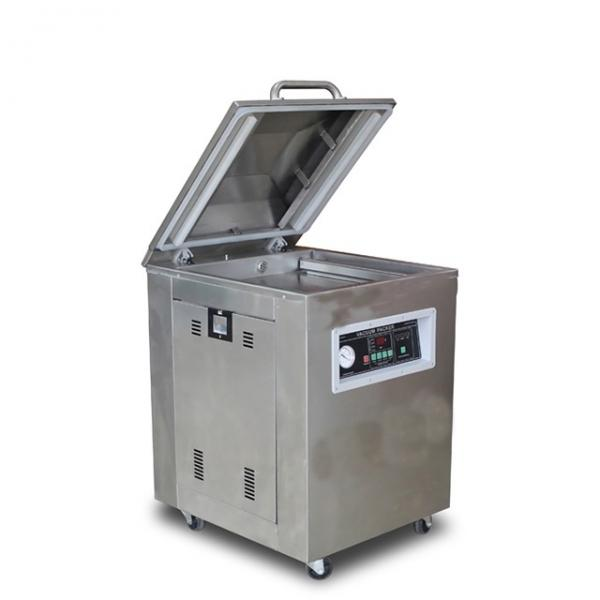 HVC-210T/1D Hualian Plastic Bag Portable Automatic Food Single Chamber Multi-Function Sealer Sealing Vacuum Packing Packaging Package Machine #1 image