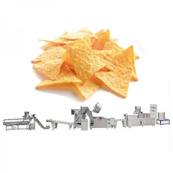 Effective Nacho Corn Chips Bugles Processing Line Making Machine #1 image