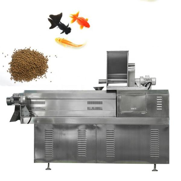 Animal Aquarium Pet Dog Cat Monkey Fox Bird Tilapia Floating Fish Feed Pellet Production Machine Snack Food Mill Processing Making Extrusion Line for Sale #3 image